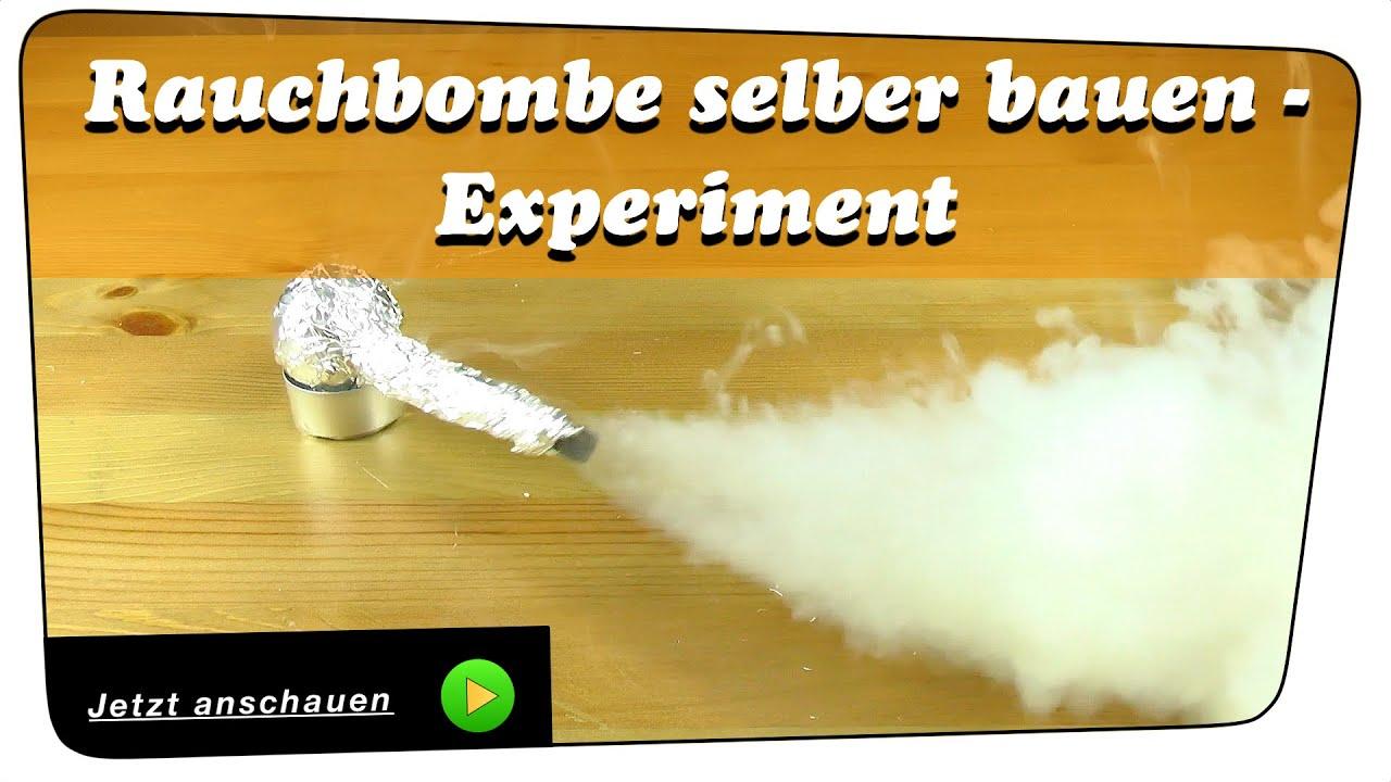 Rauchbombe Bauen