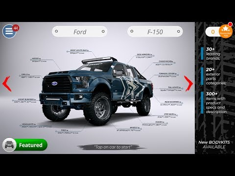3DTuning Mobile Application Preview
