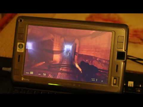 Half Life 2 Episode 2 on low spec HTC Shift UMPC