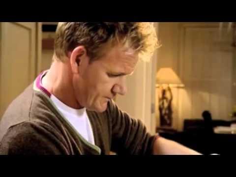 Gordon Ramsay - Passion fruit  banana souffle