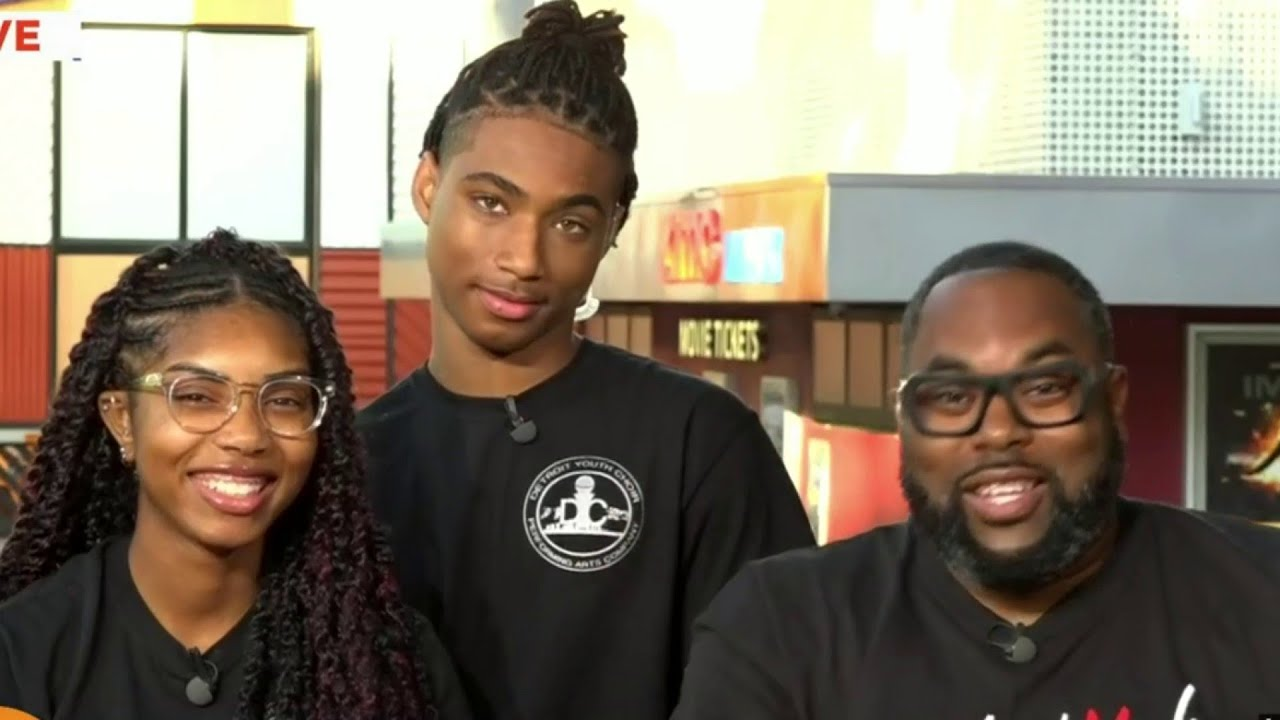 Detroit Youth Choir gives update from Hollywood