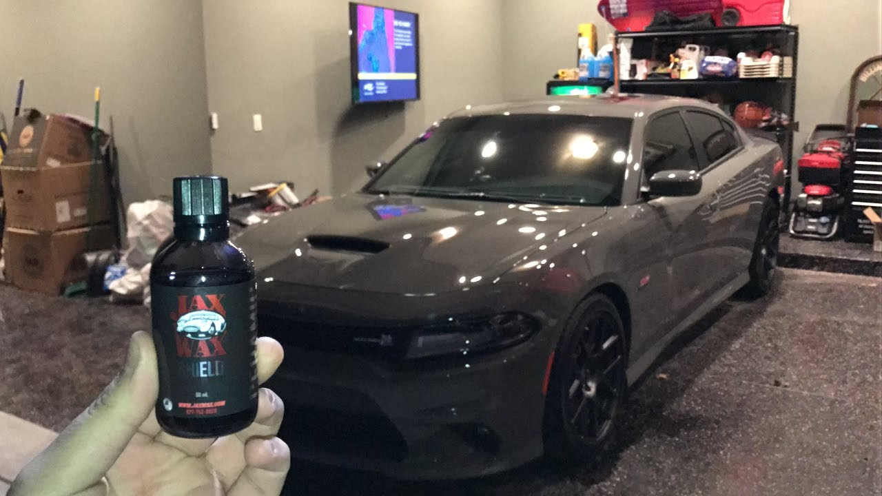 Full Paint Correction And Ceramic Coating On Charger BEST WAX - Jax wax car show