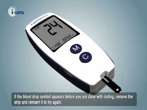 caresens-ii---coding-the-meter-to-match-test-strips