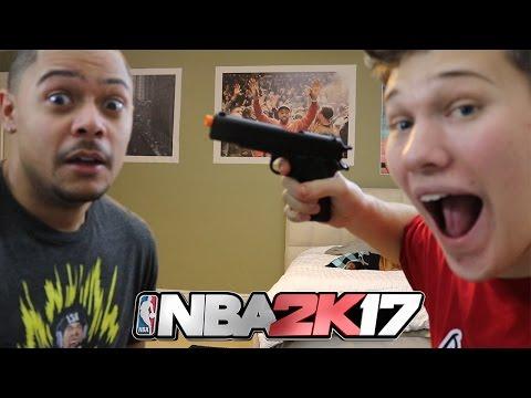 AIRSOFT GUN! NBA 2K17