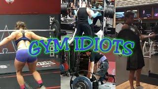 gym idiots sage northcutt cheat curls 765 lb squat disaster