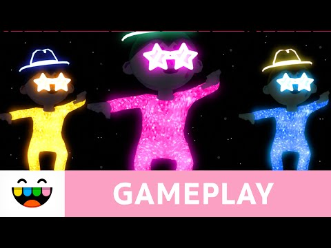 Sparkle and Glow in YOUR Music Video! | Toca Dance | Gameplay | @TocaBoca