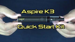 Vapor Product Spotlight: Aspire K3 Quick Start Kit