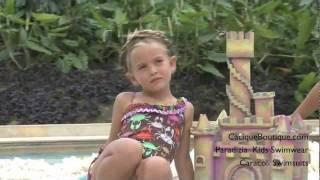 Paradizia Kids Swimwear - Caracoli Girls Swimsuits