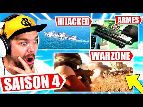 La SAISON 4 de WARZONE et COLD WAR ! (Nouvelle Map, Goulag, Armes, Hijacked...)
