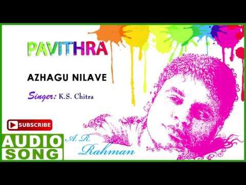 Azhagu Nilave Song | Pavithra Tamil Movie Songs | Ajith | Radhika | AR Rahman | Music Master