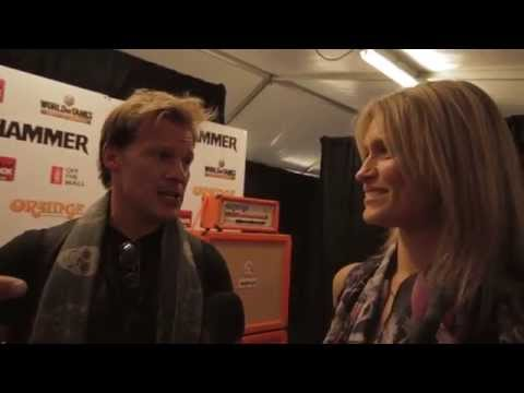 Fozzy interview with TotalRock @Golden God Awards 2014