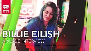 Download Billie Eilish Visits A Chinatown Arcade In NYC!   Exclusive Interview Mp3 and Videos