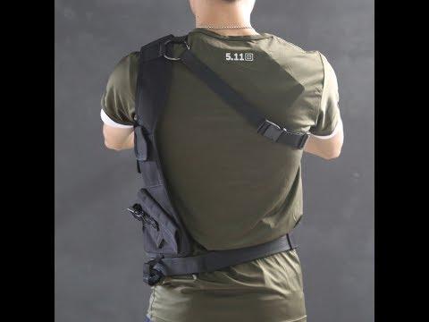 Обзор: кобура-жилет скрытого ношения пистолета