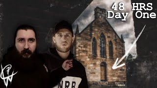 Season 3 - Haunted - Ep3 - Spending 48 hrs inside this Haunted Presbytery - Day 1 | Blue Mountains