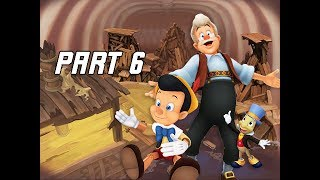 Kingdom Hearts 1.5 Walkthrough Part 6 - Monstro & Pinocchio (PS4 Let's Play)