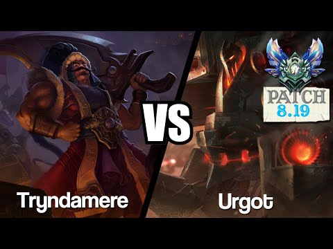 Vidéo d'Alderiate : [FR] TRYNDAMERE VS URGOT - 8.19 - DIAMANT 1