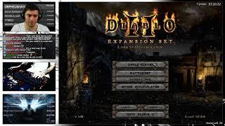 Diablo 2 - Holy Grail Sorc - Baal Runnin' (08/31/2017)