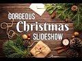 1 HOUR Christmas Slideshow for Instant Holiday Decor!