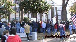 Athens, Texas - Nativity Protest Rally 12/17/11 (Speeches) 2 of 6