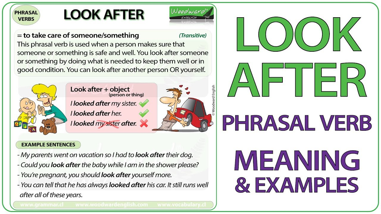 Phrasal Verbs Meanings And Examples
