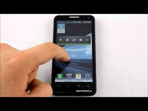 Motorola Motoluxe Personalizare ecran