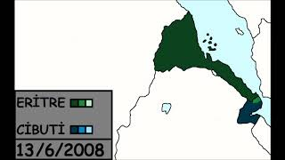 Cibuti-Eritre Sınır Anlaşmazlığı [2008] (Haritalama)