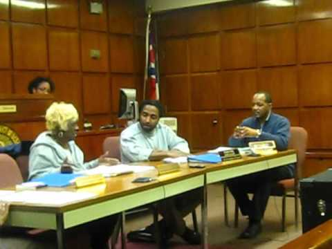 MVI 9839 - East Cleveland Ohio City Council Meeting - Agenda Review