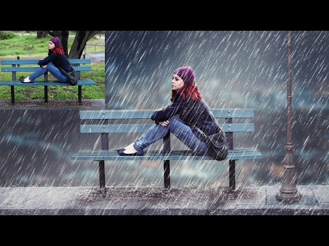 Raining Night Photo Manipulation   Photoshop Tutorial Cs6/cc