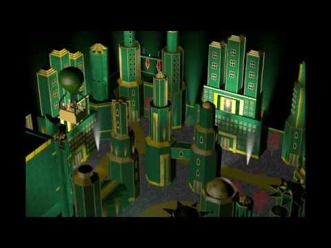 Journey to Oz Ride Concept CGI