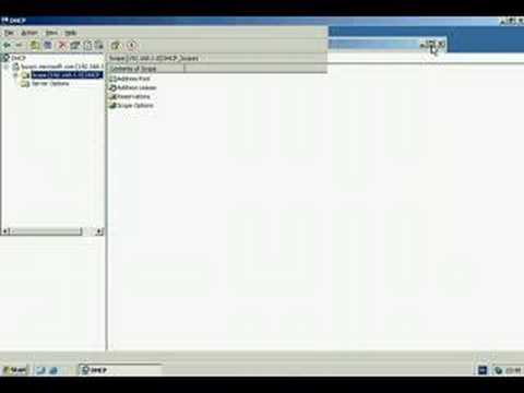 Windows Server 2003 - DHCP Server Address Leases