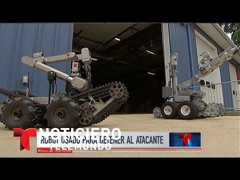 El robot que ultimó al asesino de Dallas   Noticiero   Noticias Telemundo