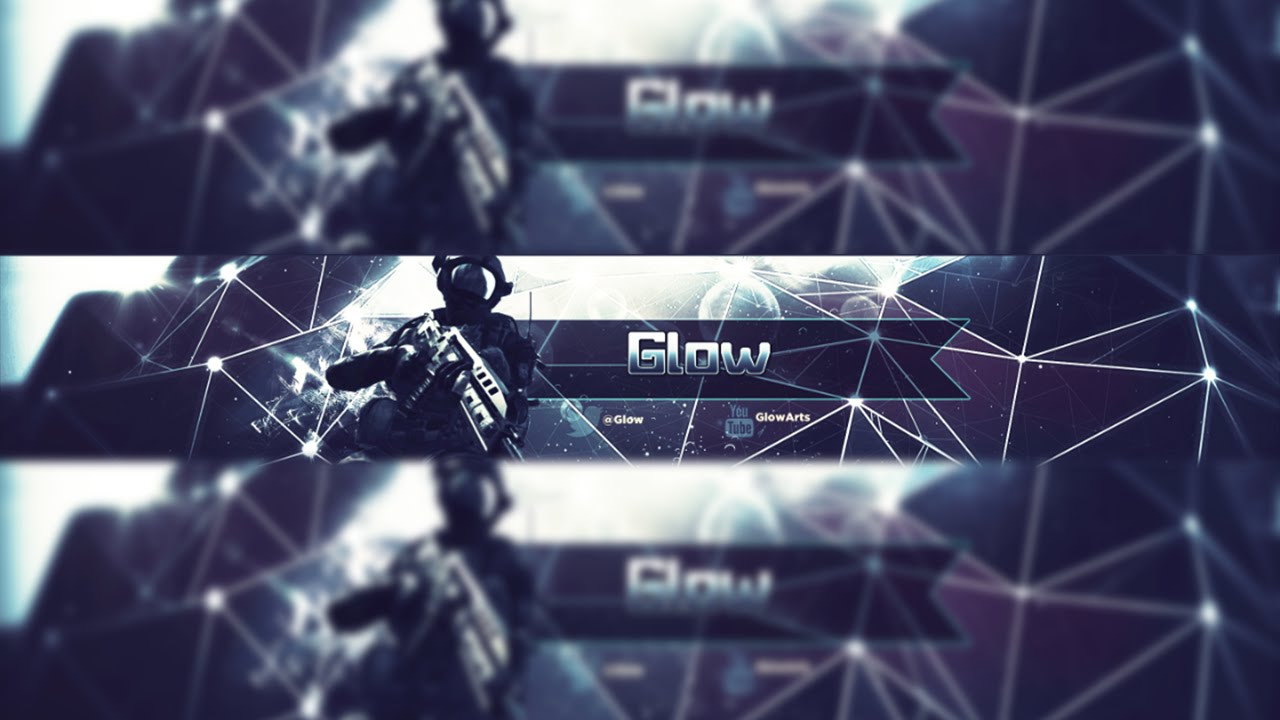Youtube Banner 1 Free Gfx Template Psd W Download 2d