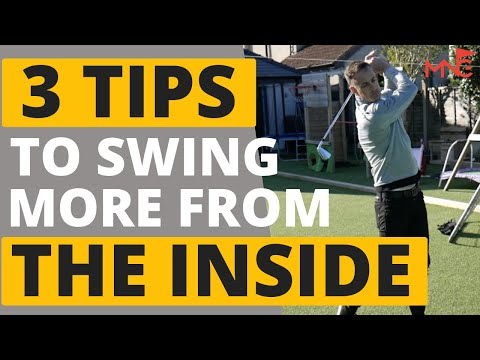 3 Easy Drills To Swing More From The Inside
