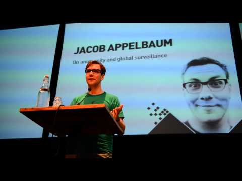 Big Brother awards 2013 Jacob Appelbaum