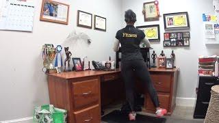 Standing Desk workout