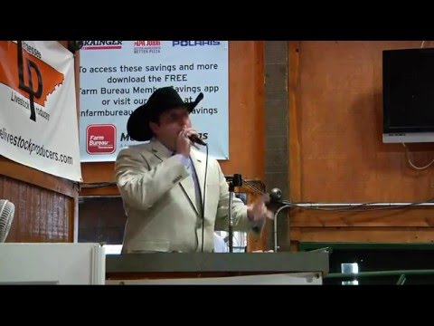 Columbia Breakfast Rotary Mule Day Auctioneer Contest 2016