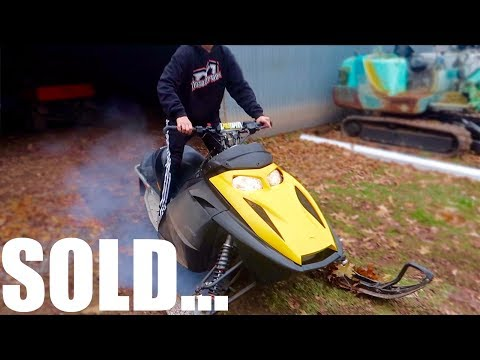 MY SNOWMOBILE IS GONE *SOLD*