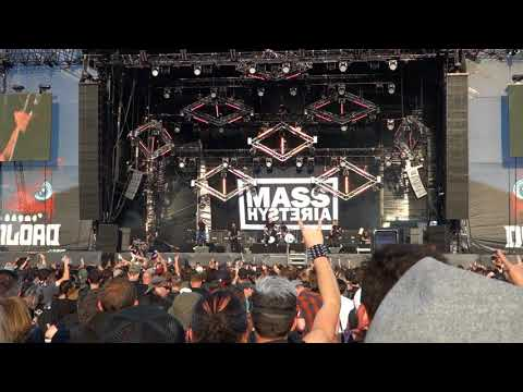 Mass Hysteria  positif à bloc  Download Paris  17062018