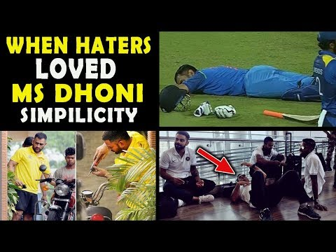 #7 Times MS Dhoni Proved Why Even Haters Fall in Love With His Simplicity | Respect