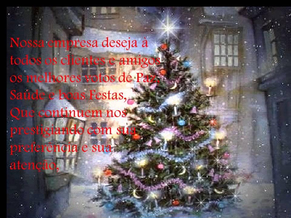 Mensagem De Natal Para Amigos: Mensagem De Natal Aos Nossos Clientes E Amigos