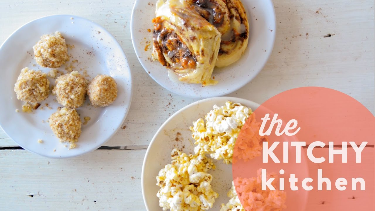pumpkin spice latte 3 ways / the kitchy kitchen - youtube