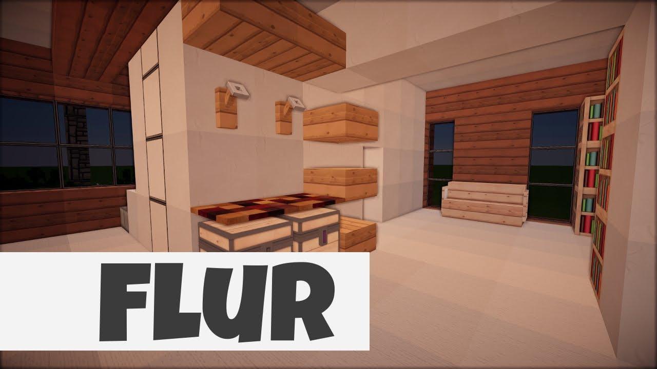 Faszinierend Einrichtungsideen Flur Dekoration Von Minecraft [101] Einrichten -   Folge 7