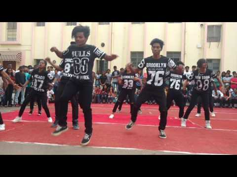 Awesome Street Dance by Gossner College. 'Stomp the Yard' flagship event at Bitotsav 2017