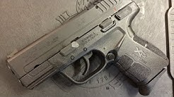 Springfield Armory XDE 45acp Review