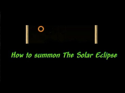 Terraria 1.3 Tutorial, How To Summon The Solar Eclipse