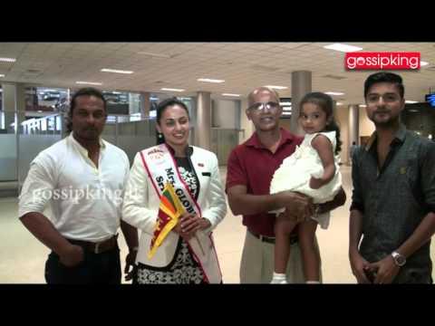 Udari goes to China for Miss. Globe [www.gossipking.lk]