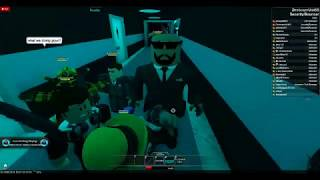 Being security at Club Galaxy (Roblox)