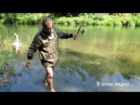 Рыбалка в подмосковье. Московская область, река Протва город Верея.