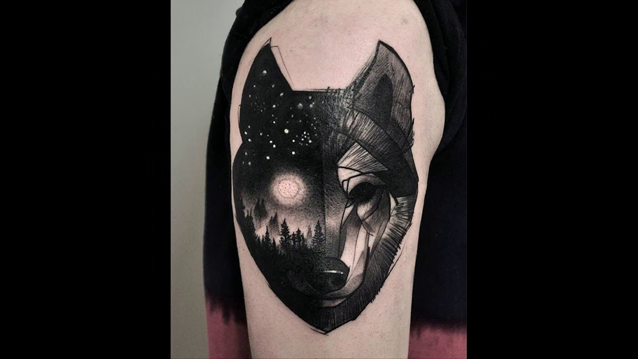What is the significance of the tattoo wolf