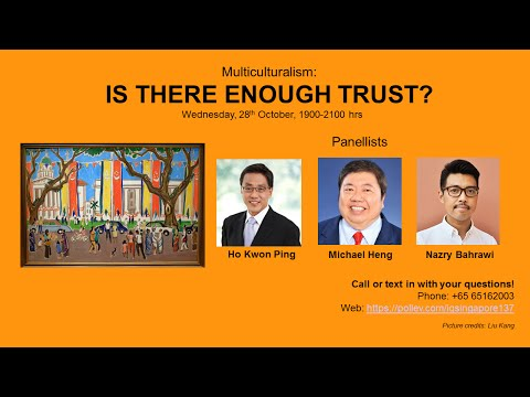 [debateIQ 17] Multiculturalism - Is There Enough Trust?